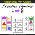 Fraction Dominoes {9 Sets for Differentiation}