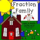 Fraction Family - Learn About Fractions! Common Core 2.G.3