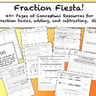 Fraction Fiesta!  Bundle Encourages Conceptual Understandi