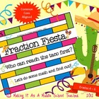 Fraction Fiesta Game {Grades 4 - 6}  Common Core Aligned