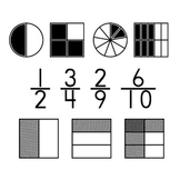 Fraction Fonts - Filled Fractions and Overlapping Models