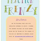 Fraction Frenzy {mixed numbers & improper fractions}