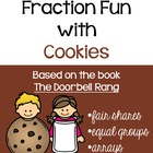 Fraction Fun- Chocolate Chip Cookies- The Doorbell Rang