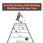 Fraction Games -Hockey, Golf, Bowling, Shuffleboard and St