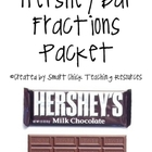 Fraction Labs Using Hershey Candy Bars, set of 5