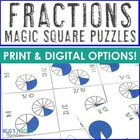 Fraction Magic Square Puzzles