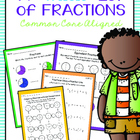 "A ""Whole"" Lot of Fractions {Common Core Aligned}"