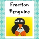 Fraction Penguin Craftivity