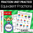 Fraction Unit - Equivalent Fractions Worksheet