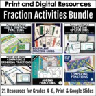 Fraction Footloose and Problem Solving Bundle
