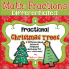 Fractional Christmas Tree & Flip book Activities Mini-Unit