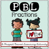 Fractions: 5th grade Project Based Learning Activity - Num