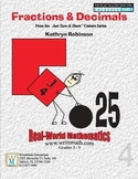 Teaching Fractions - Decimals | Daily Math Centers | 3rd,