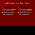 Fractions:  Exploring Fractions 1, 2, and 3