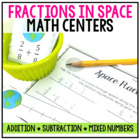 Fraction Centers: Fractions in Space Themed