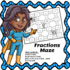 Fractions Maze