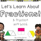 Fractions Mini Book