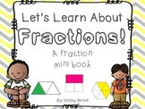 Fractions Printable Book