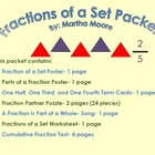 Fractions of a Set Packet