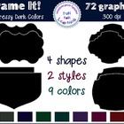 Frame It! with Dressy Dark Colors {Clipart Collection}