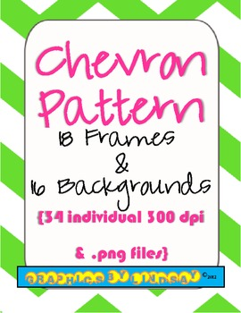Frames and Backgrounds {Chevron Pattern}