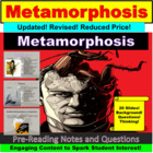 "Franz Kafka's ""The Metamorphosis"" : Common Core, Questions, Notes"
