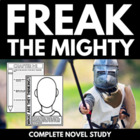 Freak the Mighty - Complete 75 Page Novel Study!