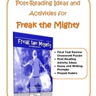 Freak the Mighty Post-Reading Ideas and Activities