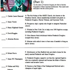 Frederick Douglass for Kids Black Abolitionists Worksheet