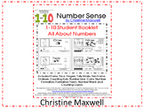 Free! 1-10 Booklet Of Number Forms