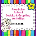 Free Baby Animal Sudoku and Graphing