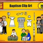 Free Baptism Clip Art for Personal Use from Charlotte's Clips