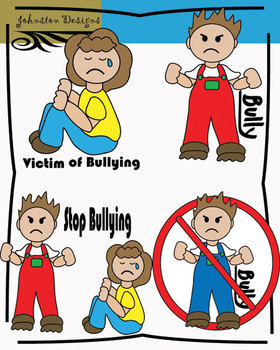 Free Bullying Clipart
