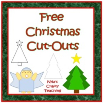 Free Christmas Shape Cut-outs