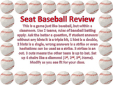 Free Classroom Baseball Review Template