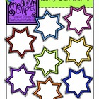 {Free} Curly Sunbursts {Creative Clips Digital Clipart}