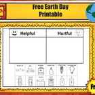 Free Earth Day Printable from Charlotte's Clips