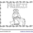 Free Emergent Reader about St. Francis from Charlotte's Clips