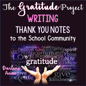 gratitude thankfulness project writing a thank you note by