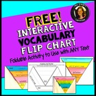 Free Interactive Vocabulary Flip Book Activity Common Core