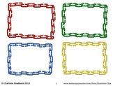 Free Linking Chain Labels - Small Frames Printable