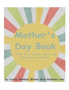 Free Mother's Day book, poem, letter, facts