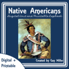 Free Native American Lap Book