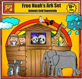 Free Noah's Ark Clip Art Set by Charlotte's Clips