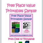Free Place Value Printables
