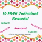 Free Positive Classroom Rewards- Freebie
