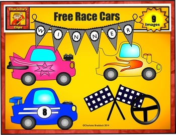 Free Race Car Clip art from Charlotte's Clips