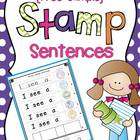 {Free Sample} Stamp Sentences