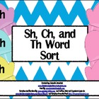 {Free} Sh, Ch, Th, Word Sort