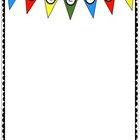 Free Welcome Pendant Banner Printable Paper from Charlotte